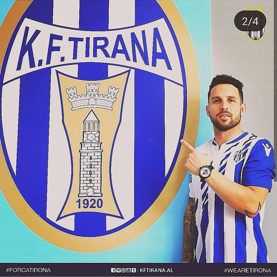 Agustín Torassa, KF Tirana, Albania